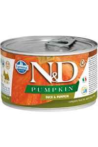 ND Pumpkin Tahılsız Ördek ve Balkabaklı Yetişkin Köpek Konservesi 140gr
