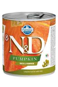 ND Pumpkin Tahılsız Ördek Eti ve Balkabaklı Yetişkin Köpek Konservesi 285gr