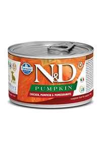 ND Pumpkin Puppy Tahılsız Tavuklu Yavru Köpek Konservesi 140gr
