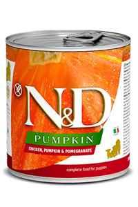 ND Pumpkin Tahılsız Tavuk Balkabağı ve Narlı Yavru Köpek Konservesi 285gr