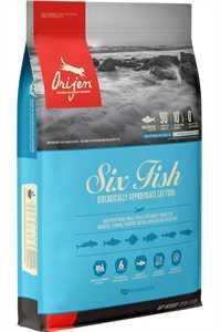 Orijen Six Fish Tahılsız Balıklı Yetişkin Kedi Maması 1,8kg