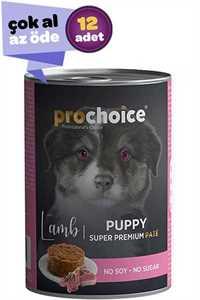 Pro Choice Puppy Kuzulu Yavru Köpek Maması 12x400gr (12li)