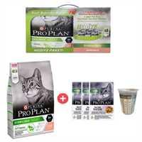 Pro Plan Somonlu Kısırlaştırılmış Kedi Maması 1,5kg + 3 Adet Yaş Mama ve Ölçü Kabı Hediye