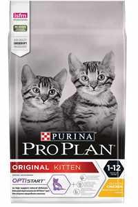 Pro Plan Kitten Tavuk ve Pirinçli Yavru Kedi Maması 1,5kg