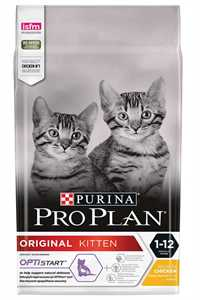Pro Plan Kitten Tavuk ve Pirinçli Yavru Kedi Maması 3kg