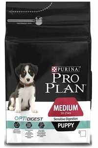 Pro Plan Puppy Kuzu Eti ve Pirinçli Orta Irk Hassas Mideli Yavru Köpek Maması 12kg