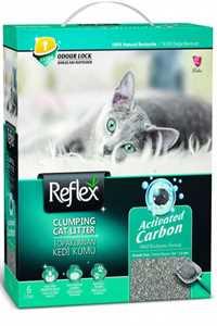 Reflex Box Active Carbon Gri Kedi Kumu 6lt