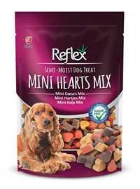 Reflex Karışık Renkli Mini Kalpli Yumuşak Köpek Ödül Maması 150gr