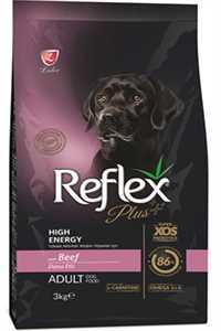 Reflex Plus Dana Etli Yüksek Aktiviteli Yetişkin Köpek Maması 3kg