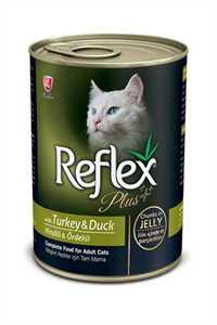 Reflex Plus Hindi ve Ördek Etli Kedi Konservesi 400gr