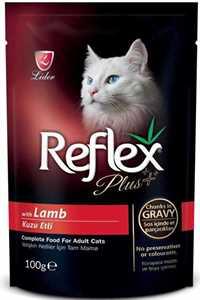 Reflex Plus Kuzu Etli Kedi Konservesi 100gr