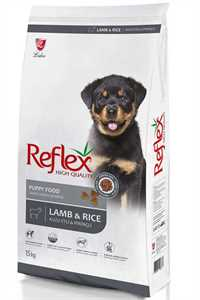 Reflex Puppy Kuzu Eti ve Pirinçli Yavru Köpek Maması 15kg