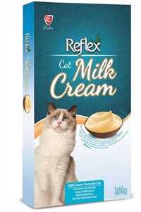 REFLEX Sütlü Kremalı Yetişkin Kedi Sıvı Ödül Maması (8li)