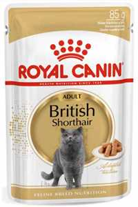 Royal Canin British Shorthair Yetişkin Kedi Konservesi 85gr