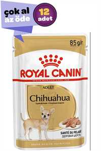 Royal Canin Chihuahua Adult Köpek Konservesi 12x85gr (12li)
