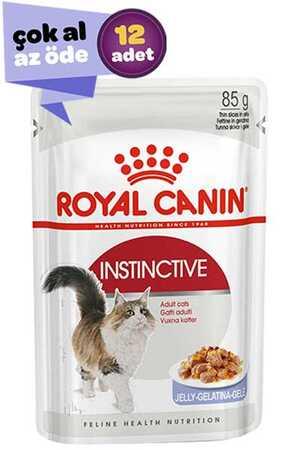 Royal Canin Instinctive Jöleli Kedi Konservesi 12x85gr (12li)