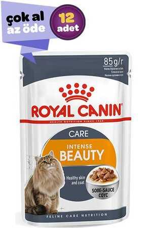 Royal Canin Intense Beauty Gravy Kedi Konservesi 12x85gr (12li)