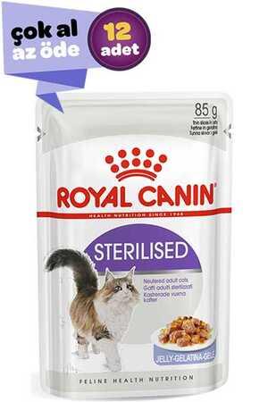 Royal Canin Jöleli Kısırlaştırılmış Kedi Konservesi 12x85gr (12li)