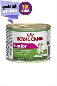 Royal Canin Junior Mini Küçük Irk Yavru Köpek Konservesi 12x195gr (12li)