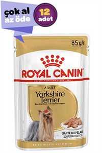 Royal Canin Yorkshire Terrier Adult Köpek Konservesi 12x85gr (12li)