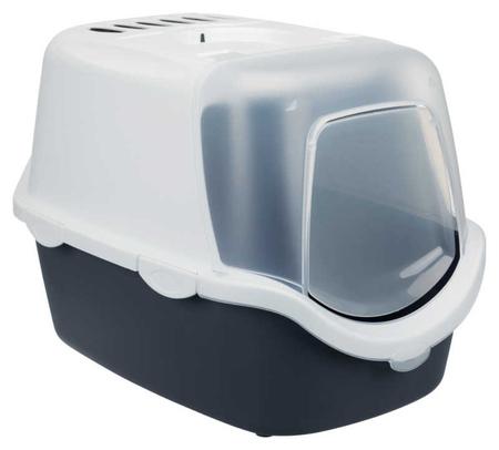Trixie Kedi Kapalı Tuvalet Kabı, 40×40×56cm Gri