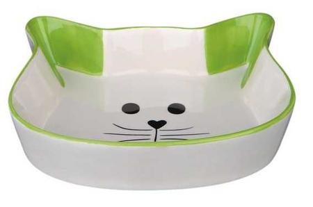 Trixie Kedi Seramik Mama Su Kabı, 0,25Lt 12cm