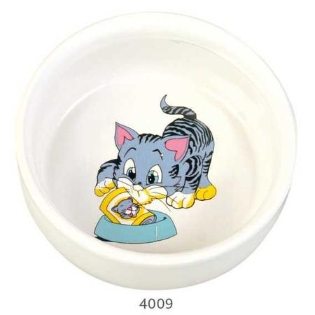 Trixie Kedi Seramik Mama Su Kabı, 0,3Lt_11cm
