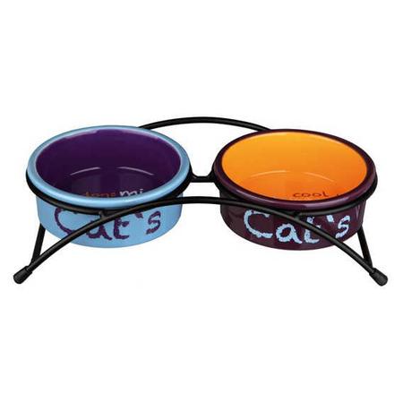 Trixie Kedi Seramik Mama Su Kabı Seti 2×0.3Lt