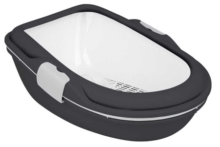 Trixie Kedi Tuvalet Kabı, XL, Elekli,47X26X69cm