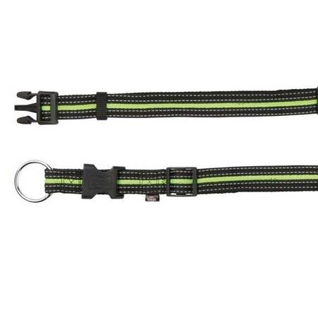 Trixie Köpek Boyun Tasma 30-45cm 17mm (S/M) Siyah&Yeşil