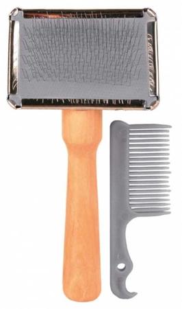 Trixie Köpek Fırçası Ve Temizleyicisi 6X13cm
