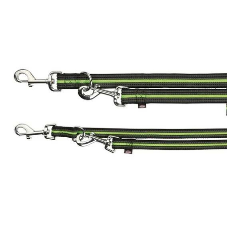 Trixie Köpek Gezdirme Kayışı 2m/17mm (S/L) Siyah&Yeşil