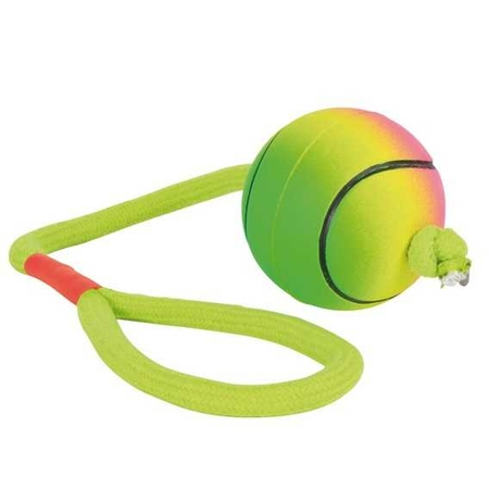 Trixie Köpek İpli Fosforlu Kauçuk Top, Ø6 cmX30 cm