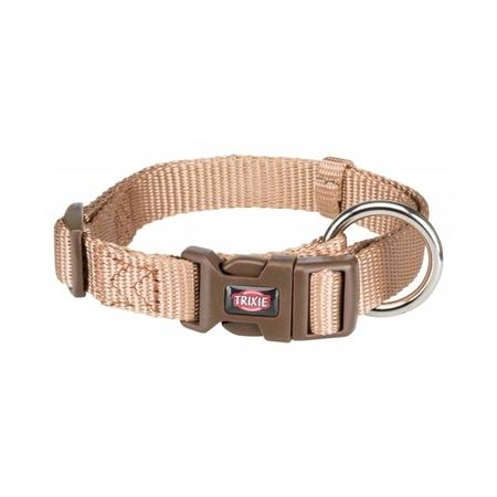 Trixie Köpek Premium Boyun Tasması 30-45cm 15mm (S/M) Karamel