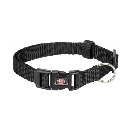 Trixie Köpek Premium Boyun Tasması 22-35cm 10mm (XS/S) Siyah