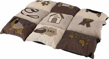 Trixie Köpek Yastığı ve Yatağı 55x40cm Kahve/Bej