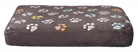 Trixie Köpek Yatağı 60x40cm Pati Desenli Gri