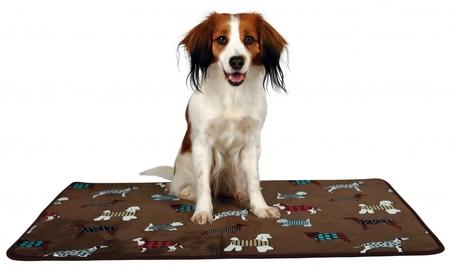 Trixie Köpek Yatağı İnce Peluş 90x68cm Kahverengi